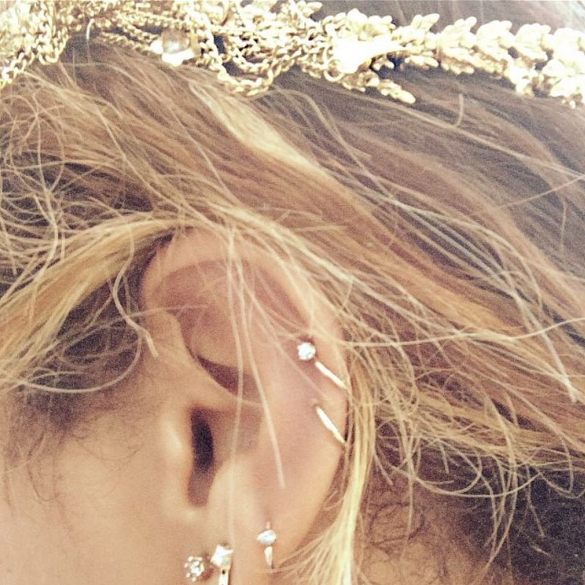 Different piercing ideas  Multiple Ear Piercings  All The Ear Constellation Inspiration You