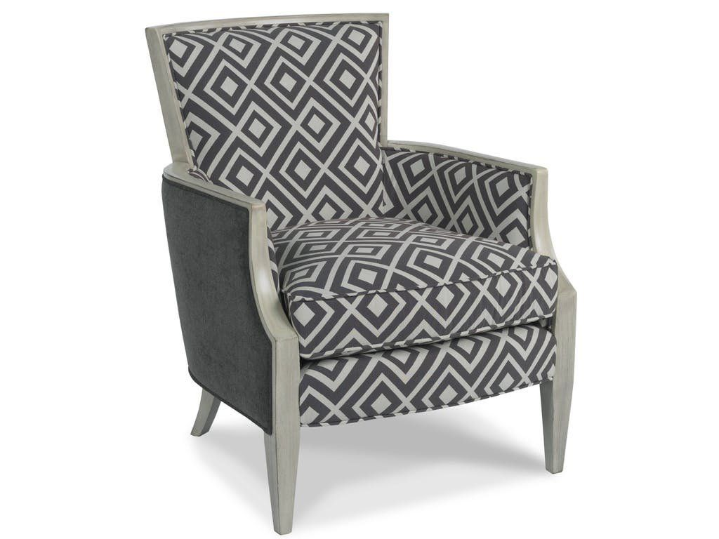Nadia Exposed Wood Armchair Perigold Mountain House Accent