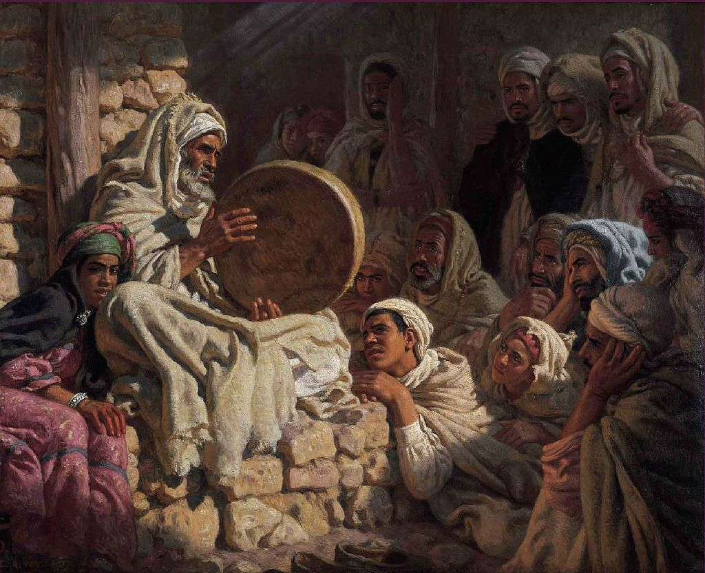 Peinture orientaliste etienne dinet recherche google - Peinture satinee algerie ...