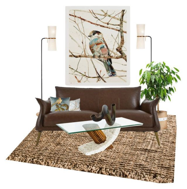 """""""Conversation Piece"""" by lovetodrinktea ❤ liked on Polyvore featuring interior, interiors, interior design, home, home decor, interior decorating, nuLOOM and Moe's Home Collection"""