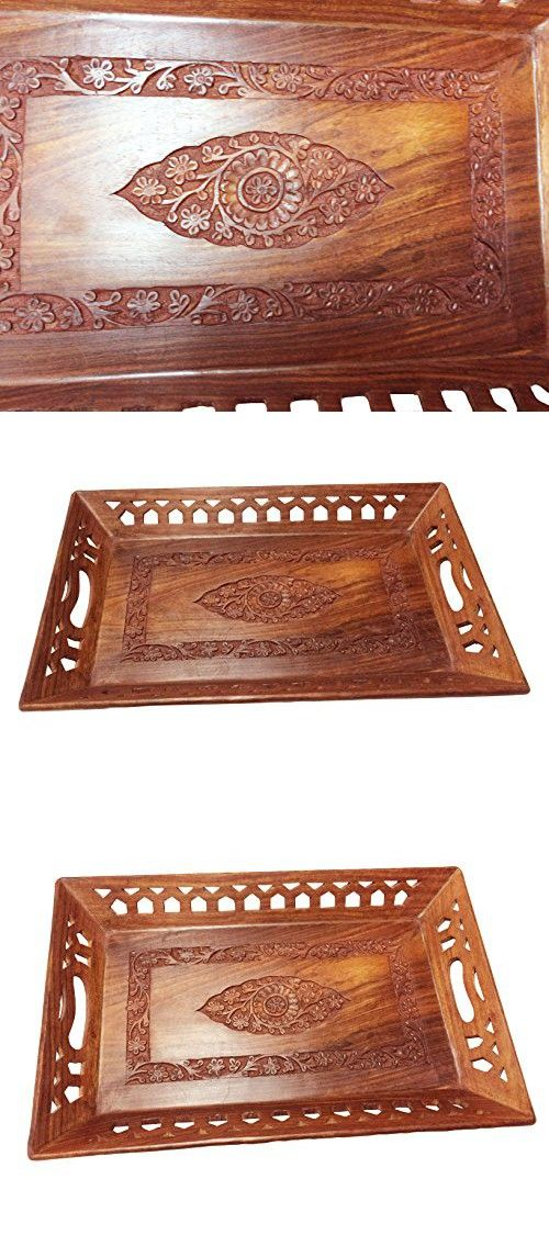 Wooden Decorative Trays Stunning Wooden Decorative Trays Coffee Traydecorative Trays Fruit Table Review