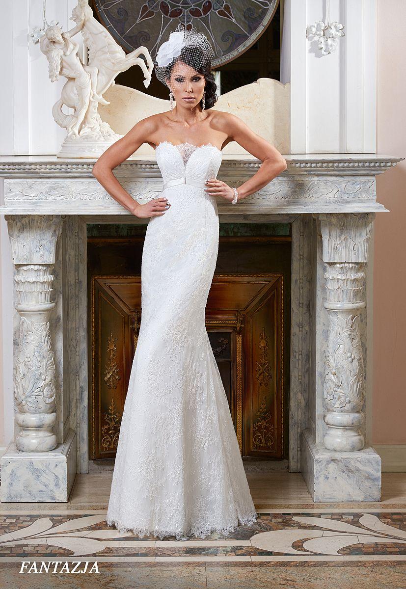Suknie ślubne Fasson Wedding Dresses By Dorota Wróbel Suknia Rybka