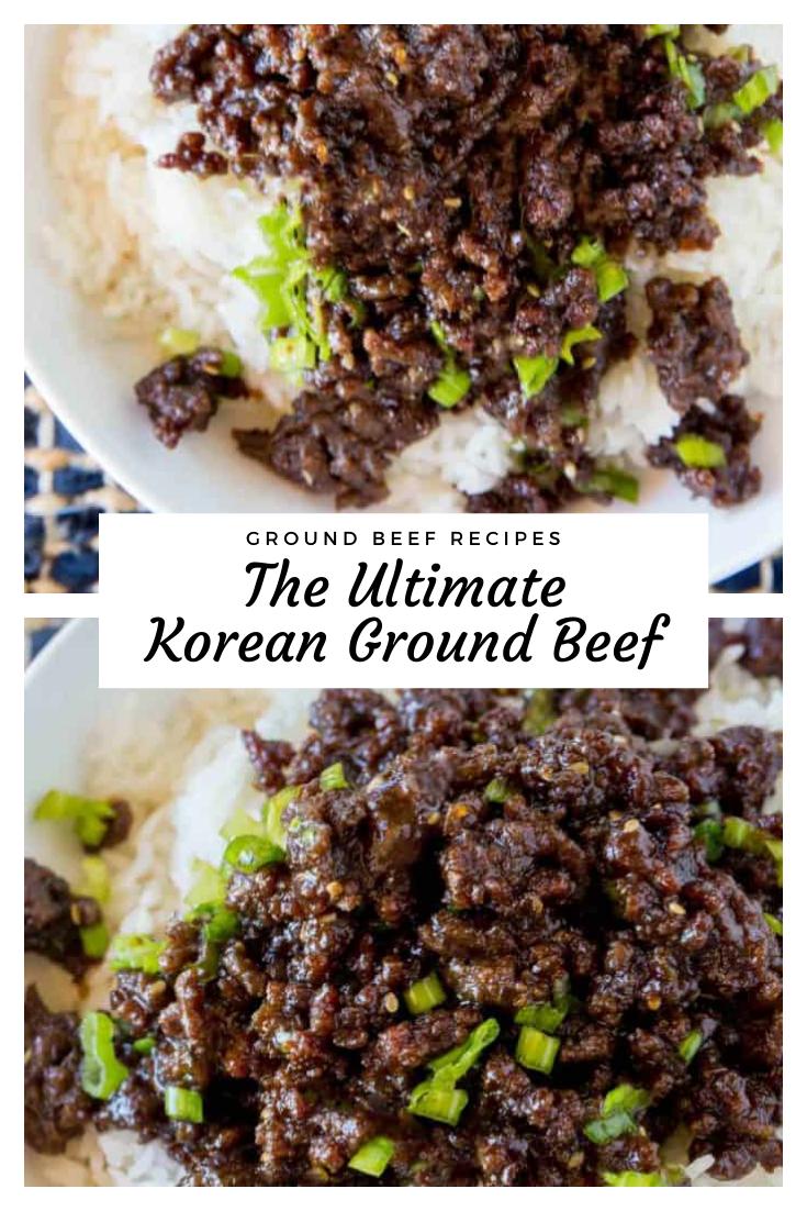 Ultimate Korean Ground Beef In 2020 Korean Ground Beef Healthy Beef Recipes Korean Beef Recipes