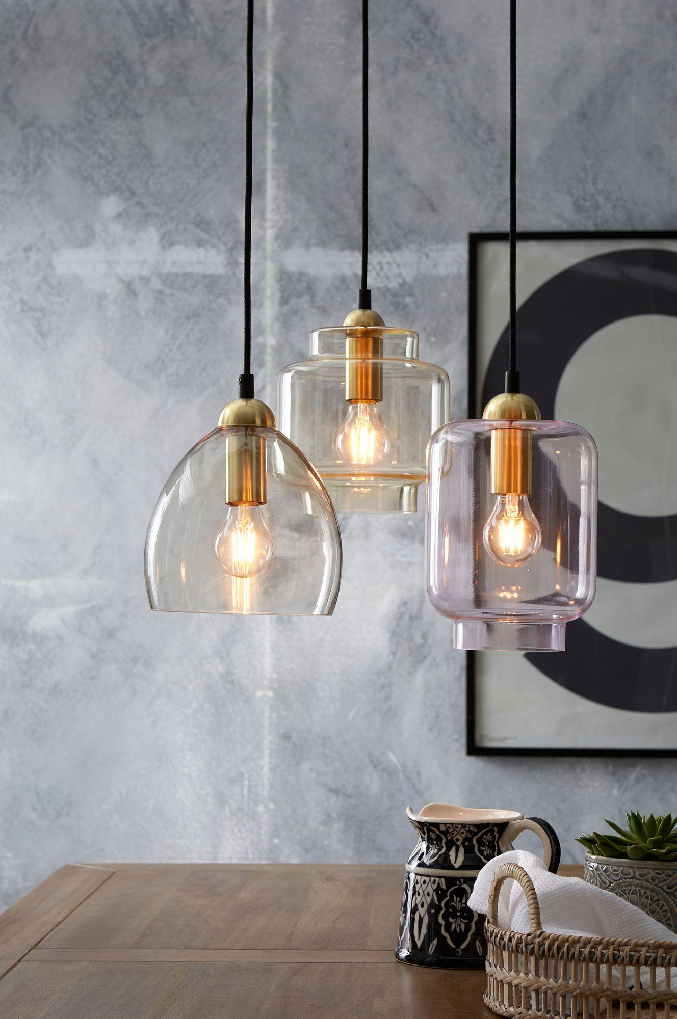 FOTO Taklampe messingfarget IKEA   Lampe suspendue