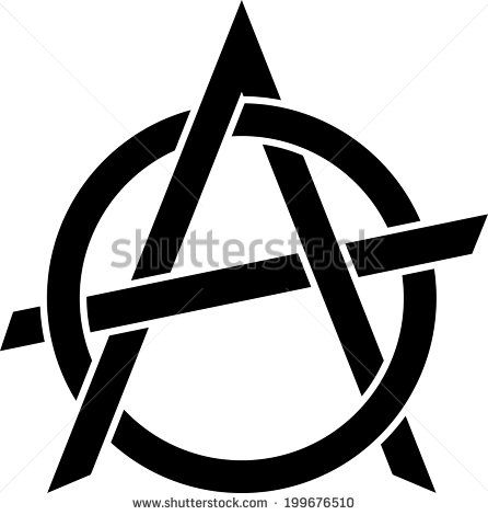 Anarchy Symbol Stock Photos Images Pictures Shutterstock A