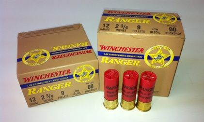 Winchester 12 Gauge 00 Buckshot