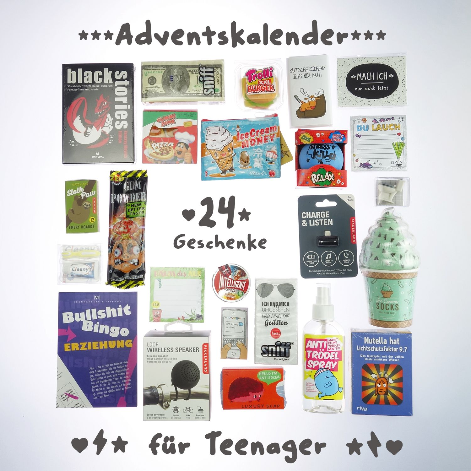 Adventskalender Fur Teenager Tolle Geschenke Vom Adventman Adventkalender Adventskalender Teenager Adventskalender