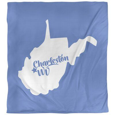 East Urban Home Charleston West Virginia Single Reversible Duvet Cover | Wayfair.ca #westvirginia