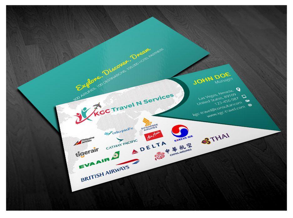 Reisebüro Geschäfts Karten Vorlagen Free Download Die