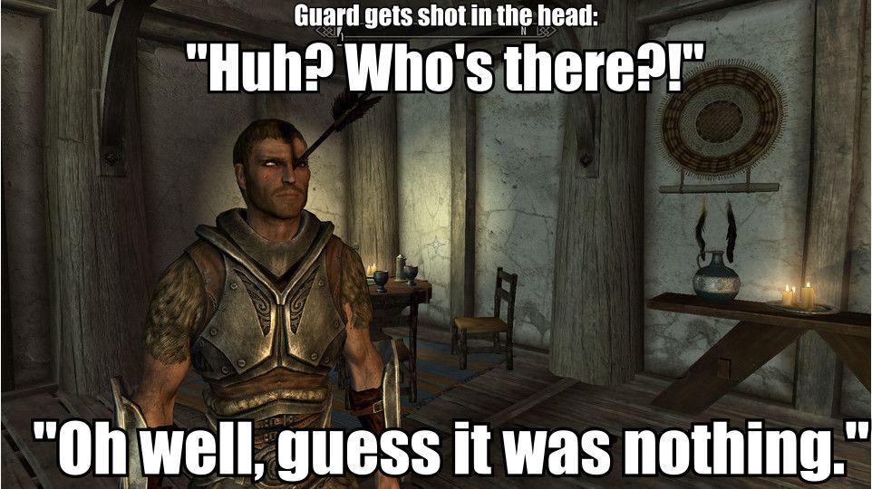 Pin By Adriana Monica On Video Game Fun Elder Scrolls Memes Elder Scrolls Games Skyrim Memes