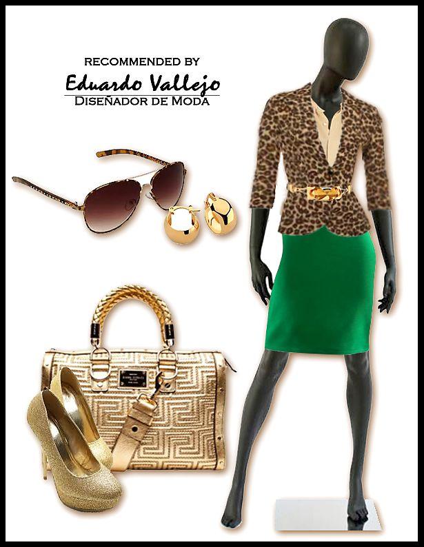 outfit recomendado By Eduardo Vallejo Diseñador de Modas