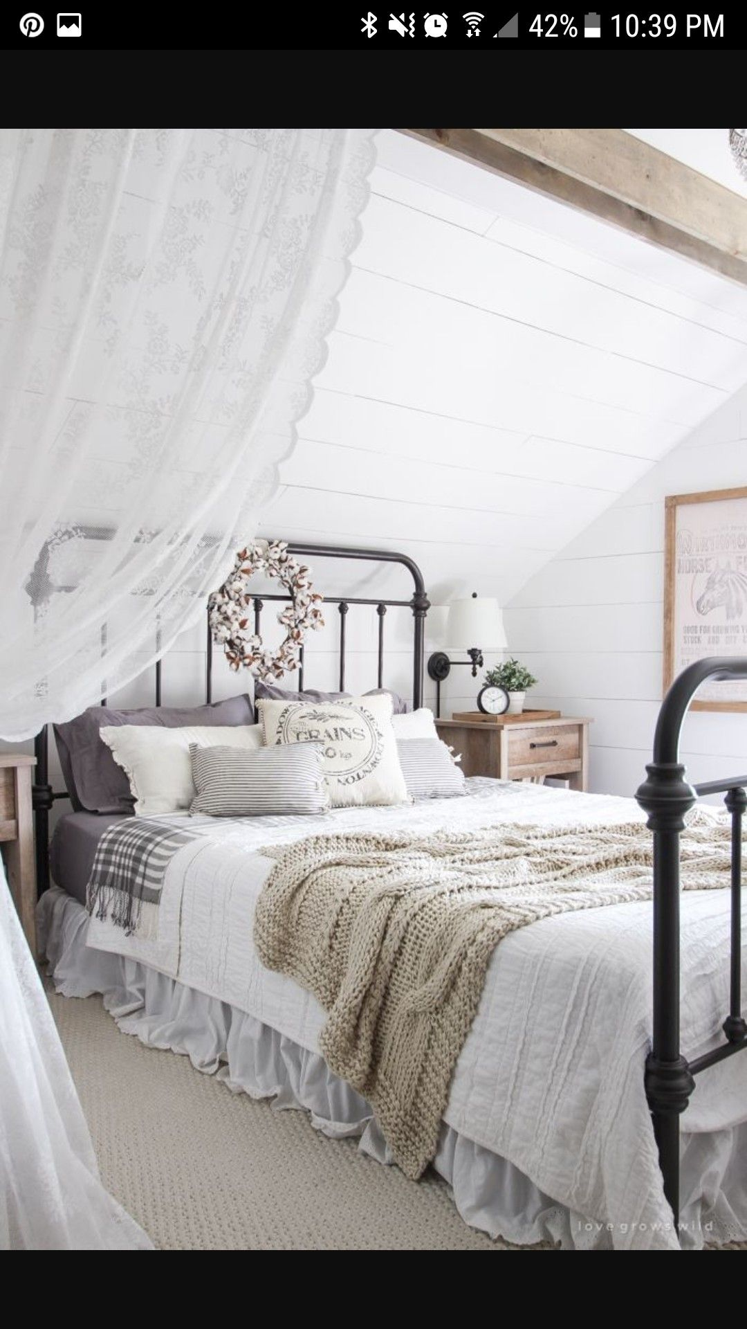 Discover Ideas About Cottage Bedroom Decor