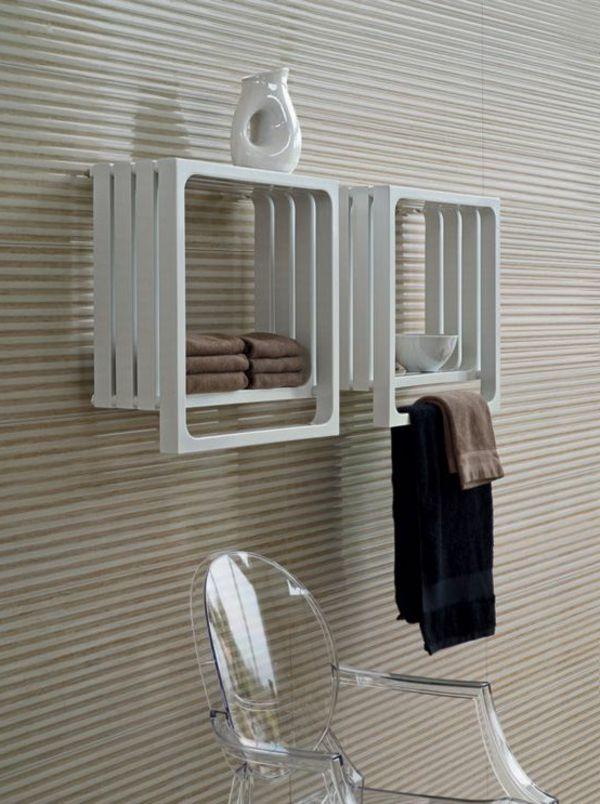 weißer Heizkörper mit coolem Design | Bad | Badheizkörper ...