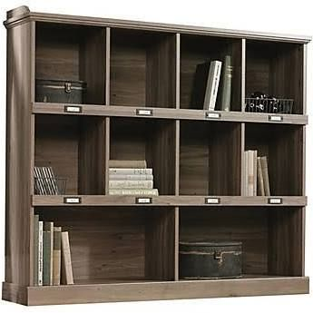sauder glass bookcase doors bookcases austin with barrister