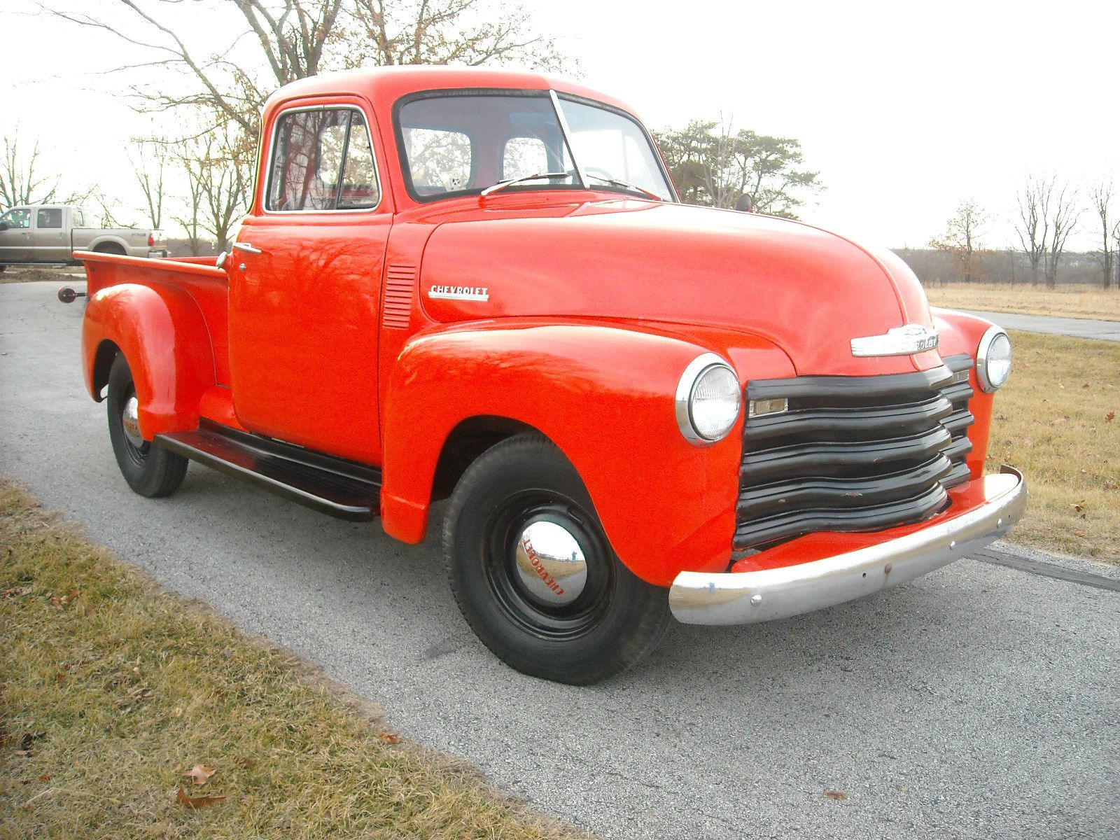 1951 Chevy 1 2 Ton Pickup Truck Rare 5 Window Deluxe Cab 53 Chevy Truck 1951 Chevy Truck Trucks