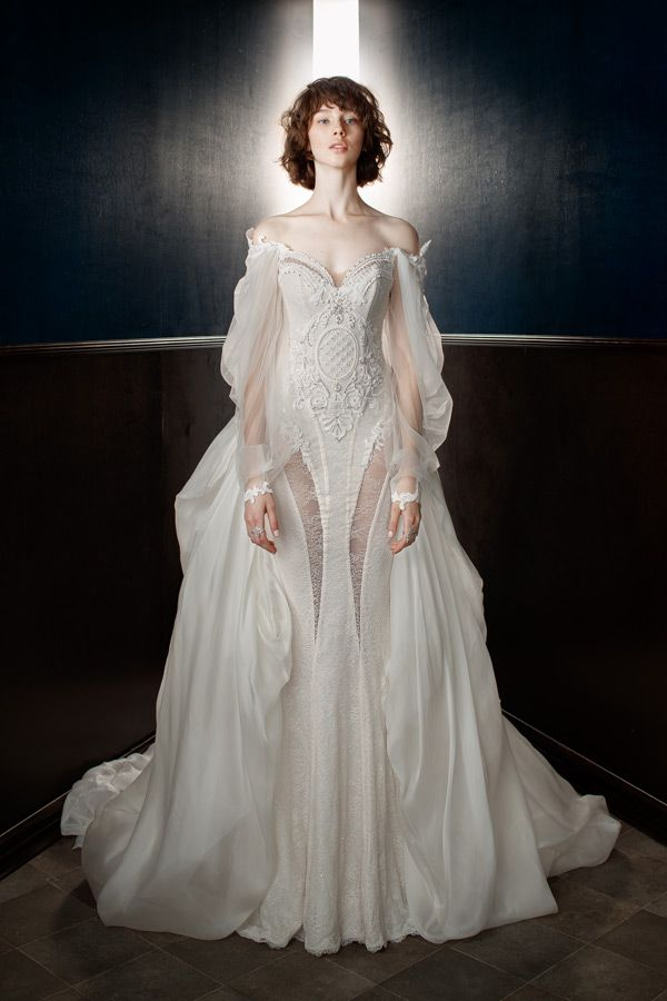 Wedluxe Galia Lahav Spring 2018 Collection Follow For More Wedding Inspiration