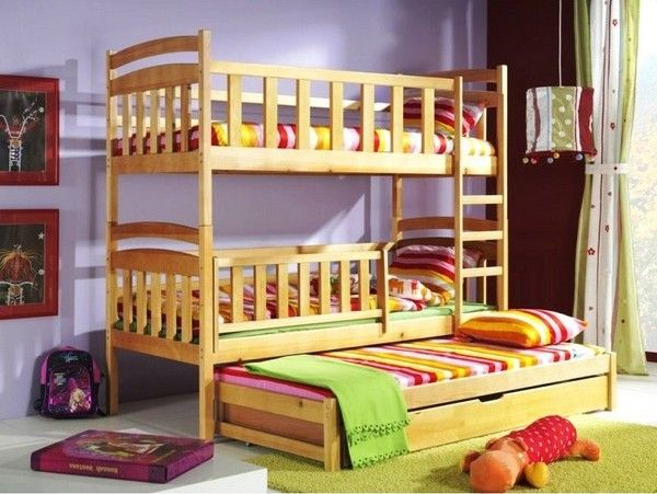 Bunk Beds Optimal Solution For Large Families Stuff To Buy
