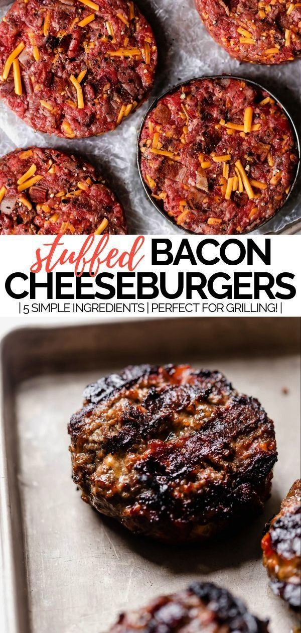 cheddar gevulde burgers | leer hoe je bacon cheddar kaas gevulde b ...  - plays well with butter -b