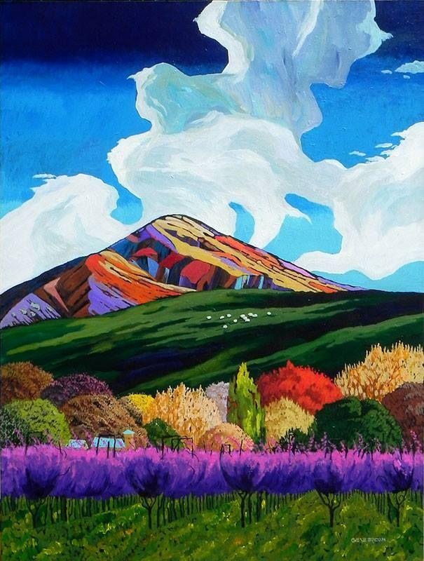 Big Rock Candy by Gene Brown http://www.swgallery.com/artwork.aspx?style_id=2&artist_id=17