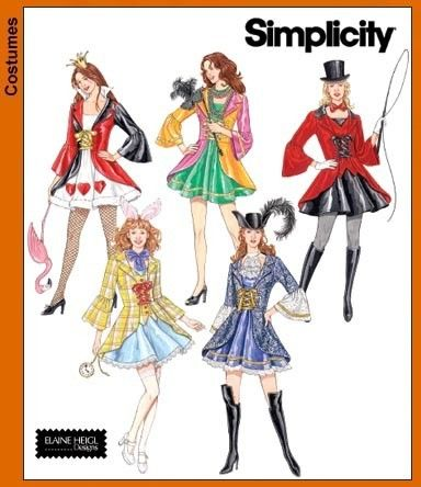 Diy Sewing Pattern-Simplicity Pattern 3685-Costume Short Lolita ...