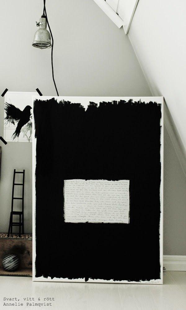 svart vita prints