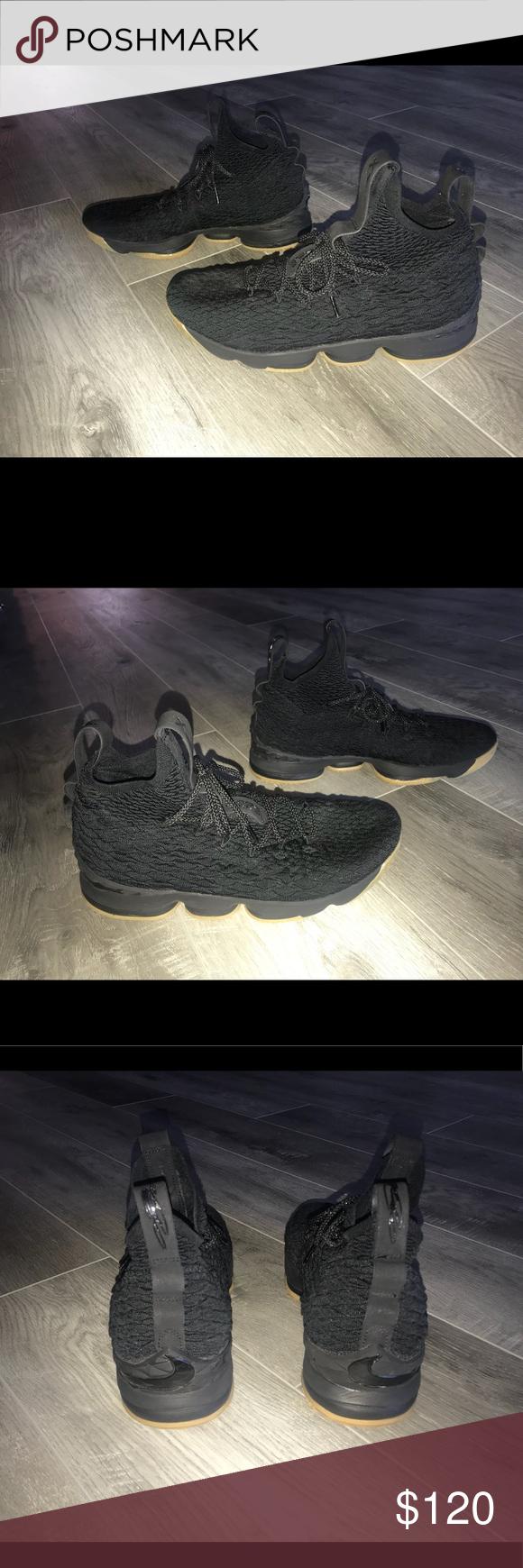 e4fb5a00b71 Men s Nike Lebron 15 XV Black Gum Shoes Men s Nike Lebron 15 XV Black Gum  897648