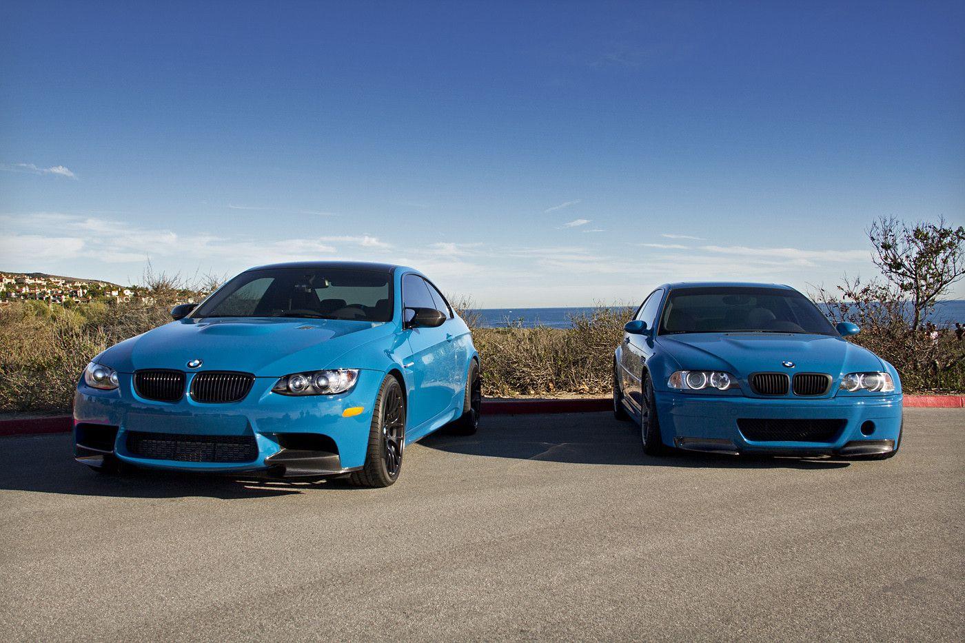 Laguna Seca Blue E92 M3 E46 M3 With Images Bmw M3 Bmw Bmw Car