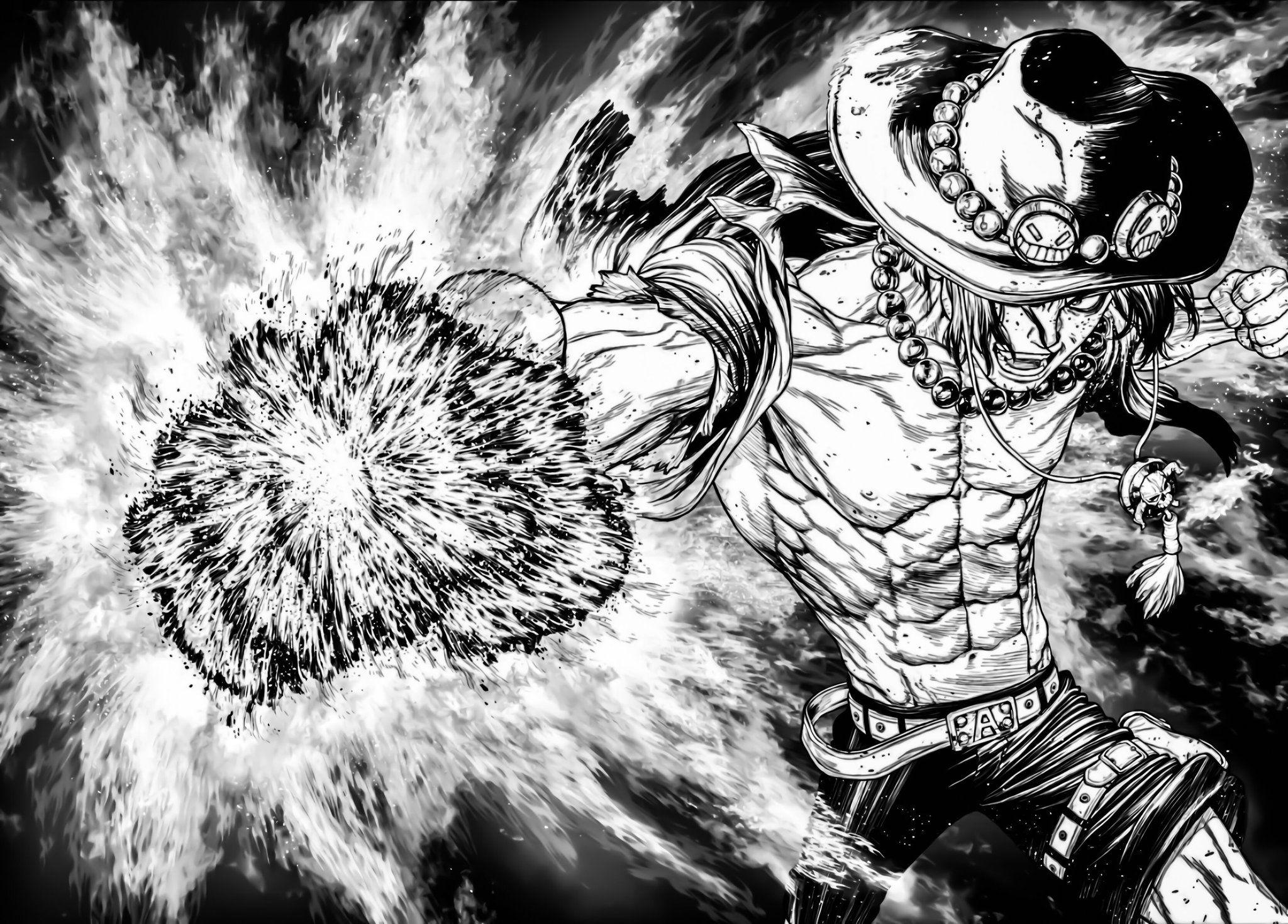 Manga Panels On Twitter In 2021 Manga Anime One Piece Ace Manga One Piece Ace