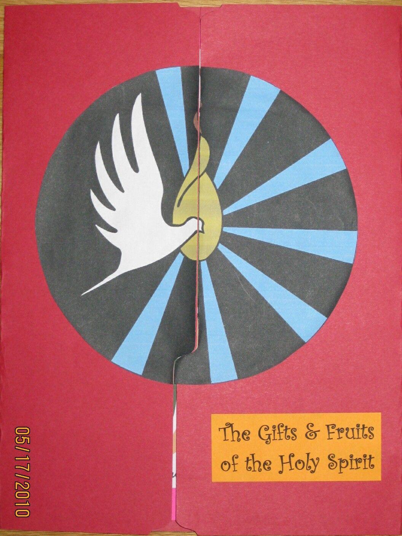 Making a holy spirit lap book heilige geest en pinksteren