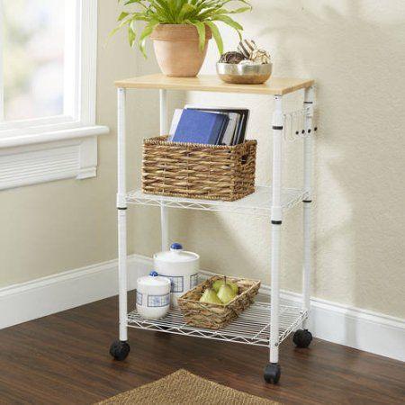 Mainstays Multi-Purpose Kitchen Cart, Multiple Colors - Walmart