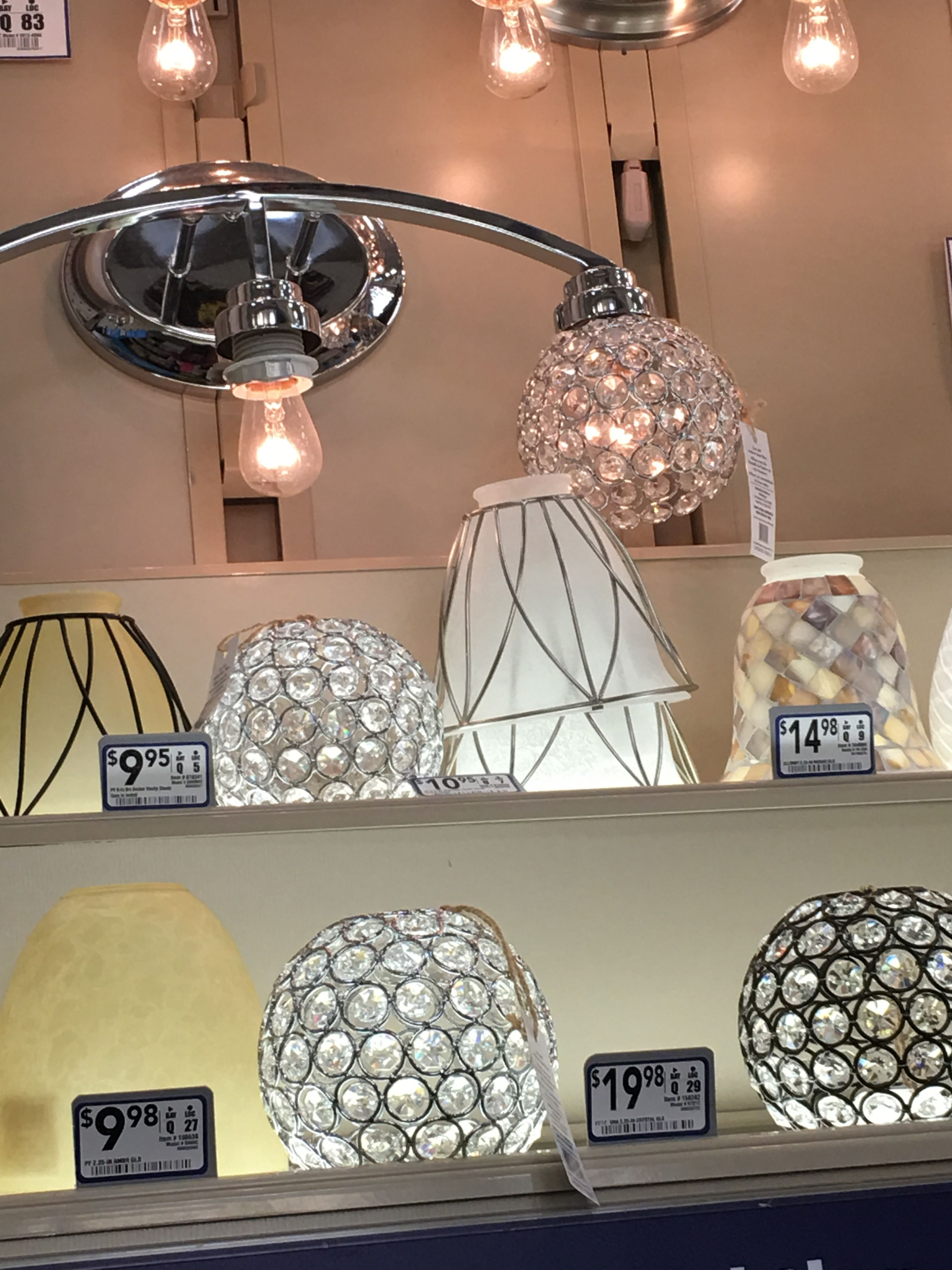 Jordan lives these crystal globes for the bath vanity light   New ...