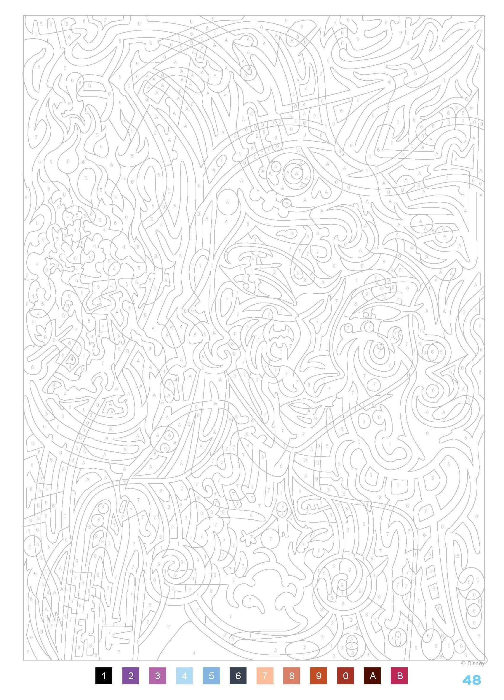 30 idées de Coloriage numeros  coloriage, coloriage magique