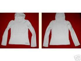 sudadera con capucha blanca bodybag