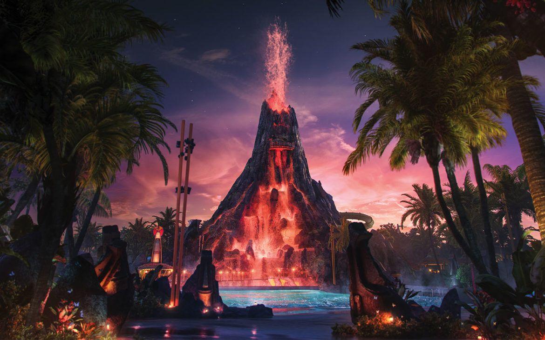 Universal Orlando Resort Volcano Bay