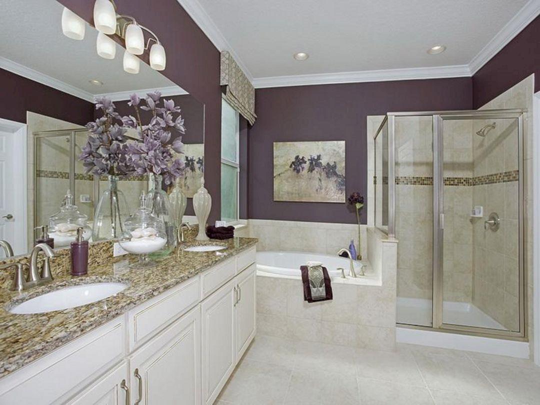 35 Best Inspiring Master Bathroom Decoration Ideas Master Bathroom Decor Master Bathroom Design Farmhouse Bathroom Decor