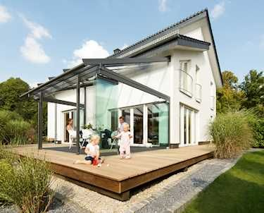 Terrassenüberdachung - Terrassendach - Terrassenüberdachungen - Glas ...