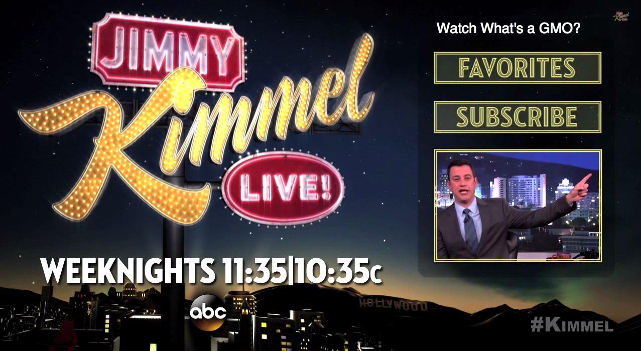 Jimmy Kimmel Live end card Celebrities read mean tweets