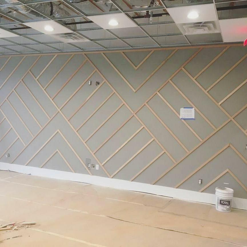 Bedroom Accent Wall Wood Trim: Modern Trim...Love It!!!! In 2019