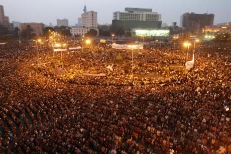 To The Occupy Movement The Occupiers Of Tahrir Square Are With