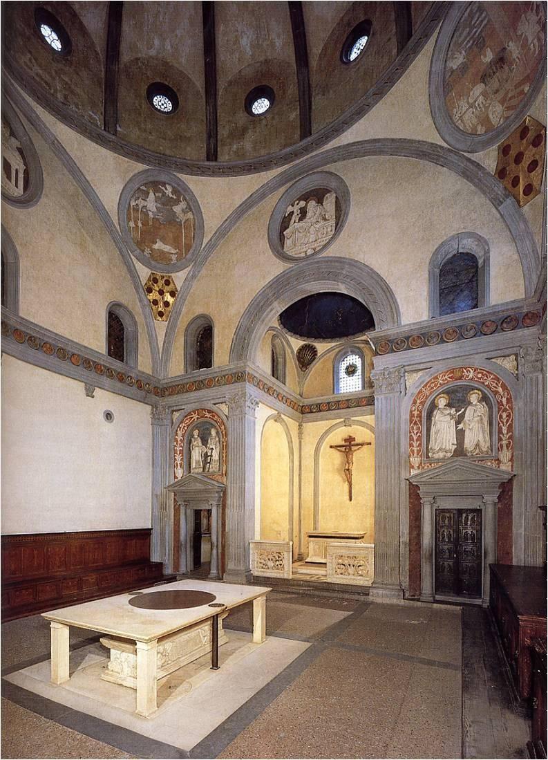 Brunelleschi sagrestia vecchia di san lorenzo firenze for Sagrestia vecchia