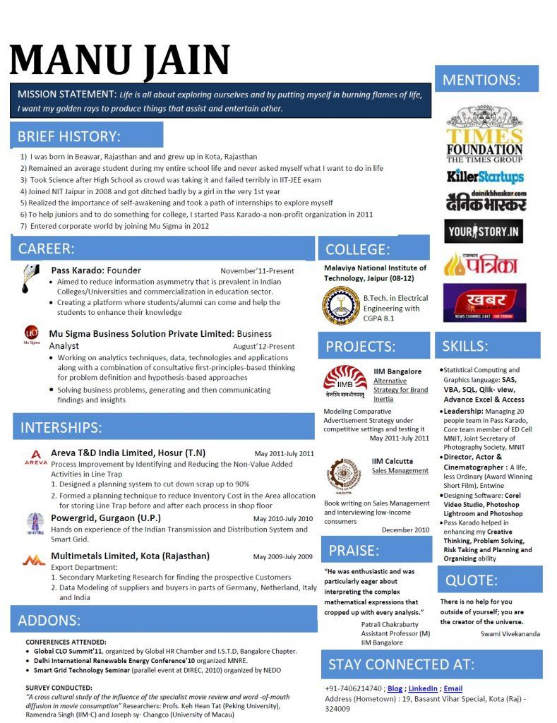 Image result for resume formats (With images) Resume