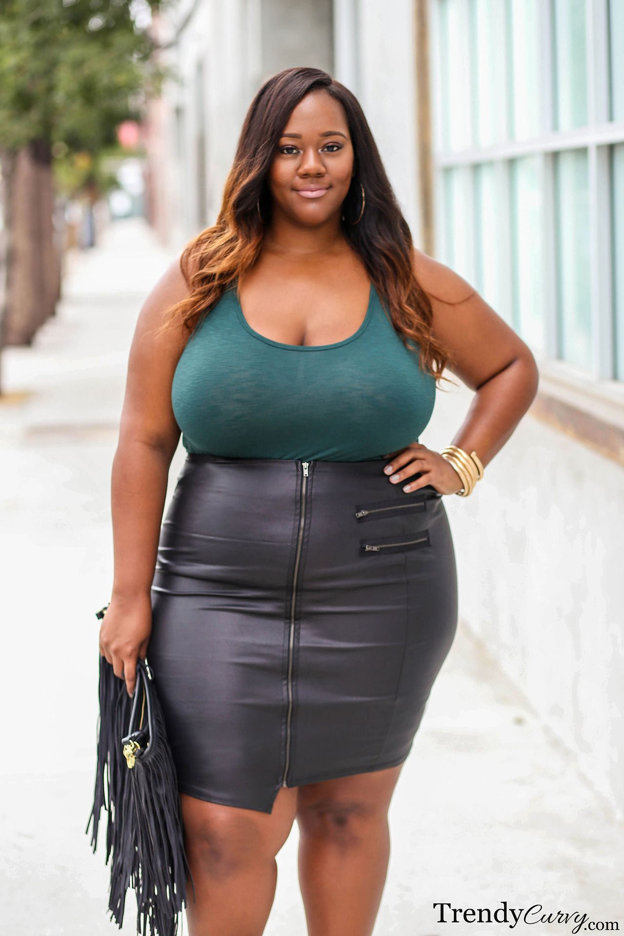 leather skirt Bbw