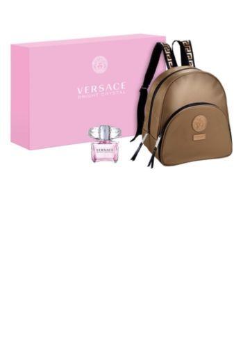 Versace Bright Crystal Eau De Toilette And Backpack Gift Set Versace Bright Crystal Backpack Gift Diamond Gift