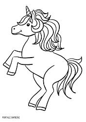 Disegni Di Unicorni E Unicorni Kawaii Da Colorare Portale Bambini Unicorns Unicorno Coloring Coloriage Coloringp Pixel Art Disegni Da Colorare Disegni