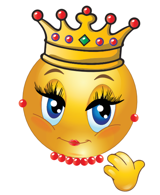 queen smiley smiley queens and smileys rh pinterest com Animated Smiley Face Clip Art Funny Smiley Face Clip Art