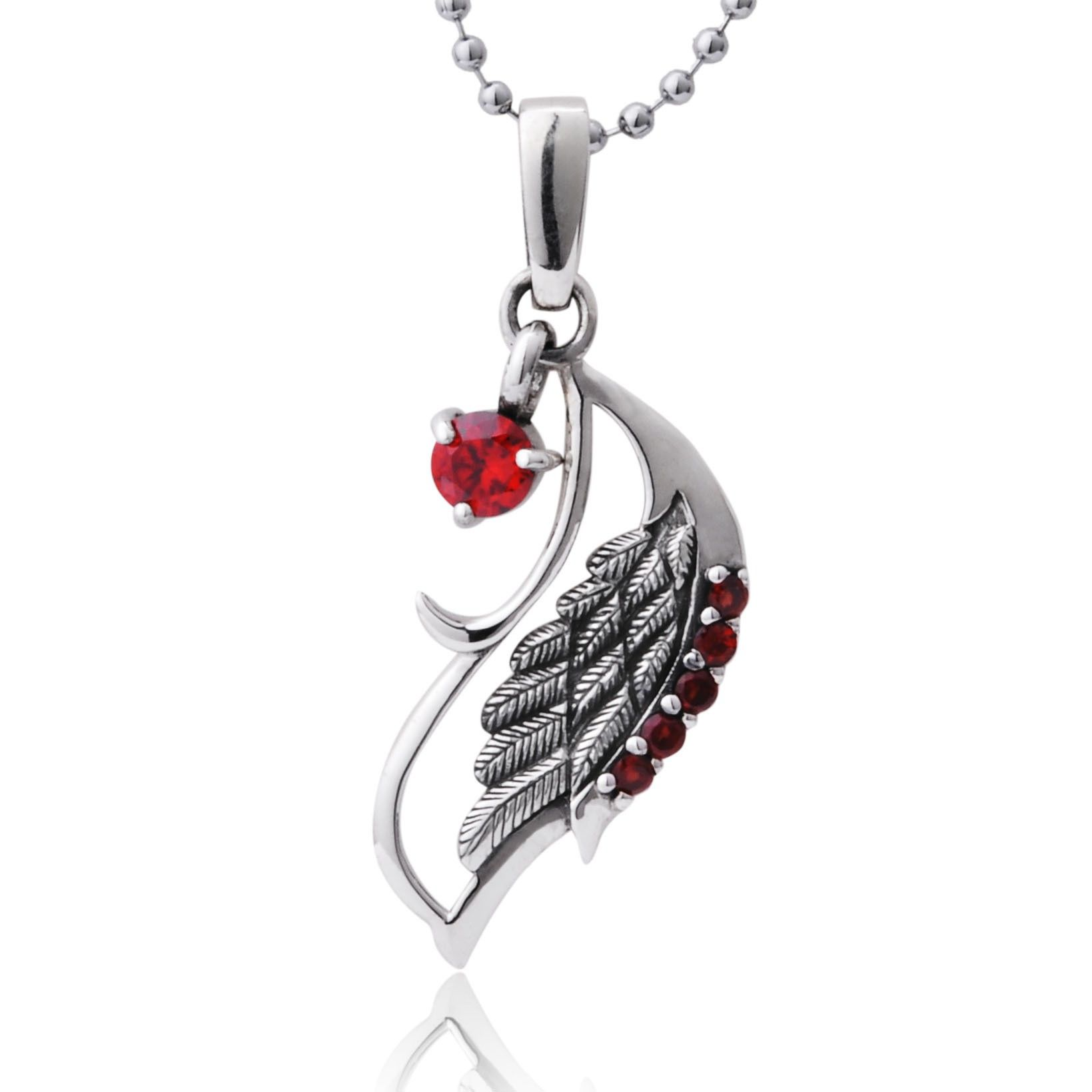 Peacock wing 925 sterling silver diamond pendant necklace for peacock wing 925 sterling silver diamond pendant necklace for women mozeypictures Gallery