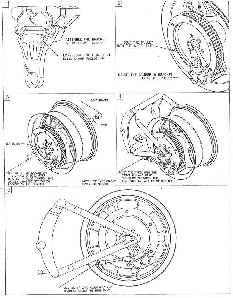 Sportster XL XLCH Pulley Assembly Diagram   Harley Schemas