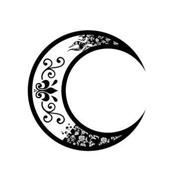 tatouage lune en croissant tatoo pinterest tattoos tattoo designs et moon tattoo designs. Black Bedroom Furniture Sets. Home Design Ideas