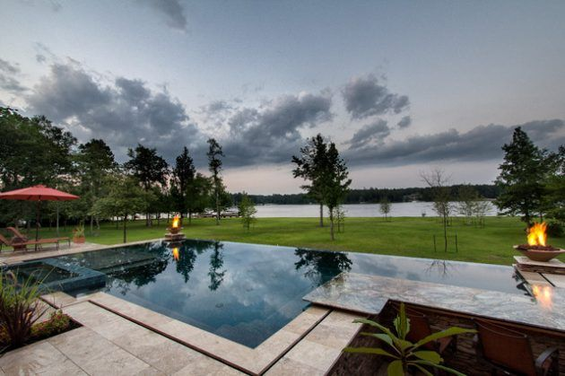 17 Magnificent Small Infinity Swimming Pool Designs To Cool Off In