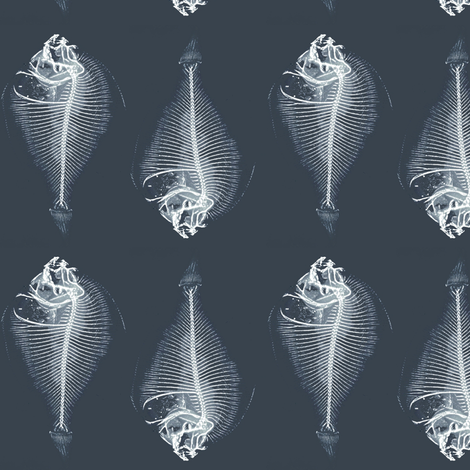 ghost fish by nalo_hopkinson on  Spoonflower